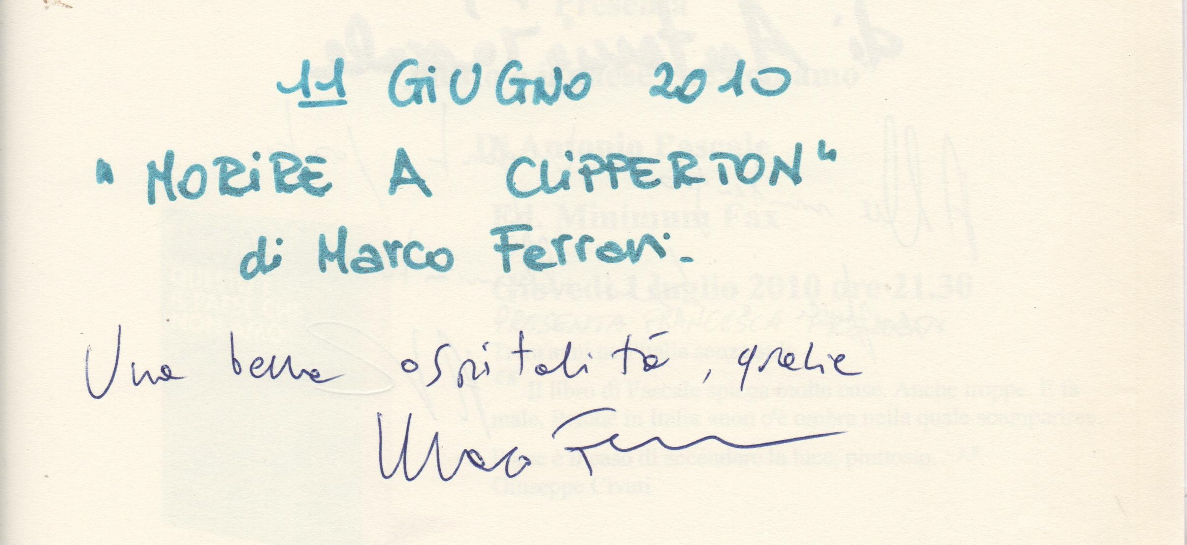 """""""Morire a Clipperton"""" di Marco Ferrari"""