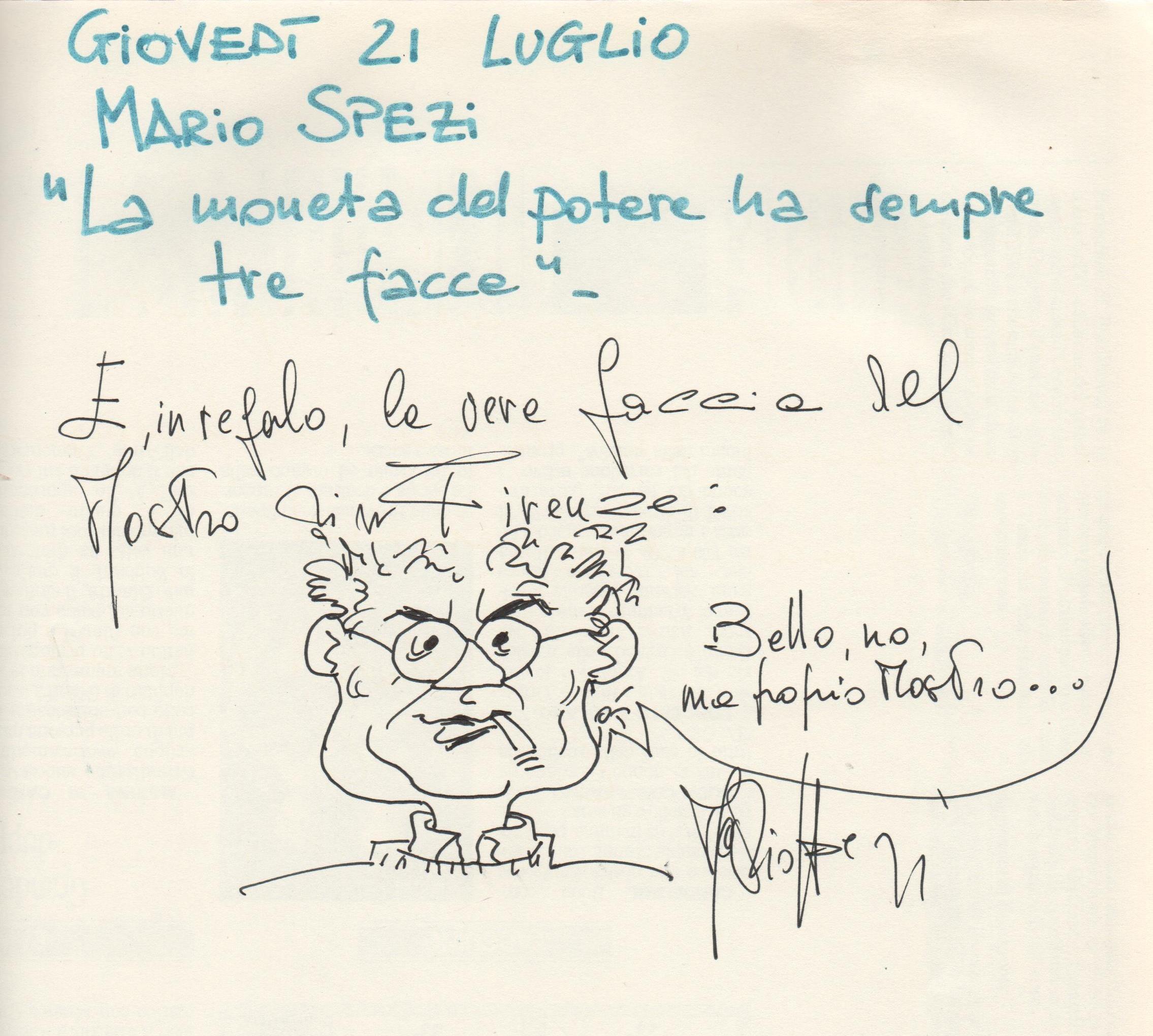 """""""La moneta del potere ha sempre tre facce"""" di Mario Spezi"""