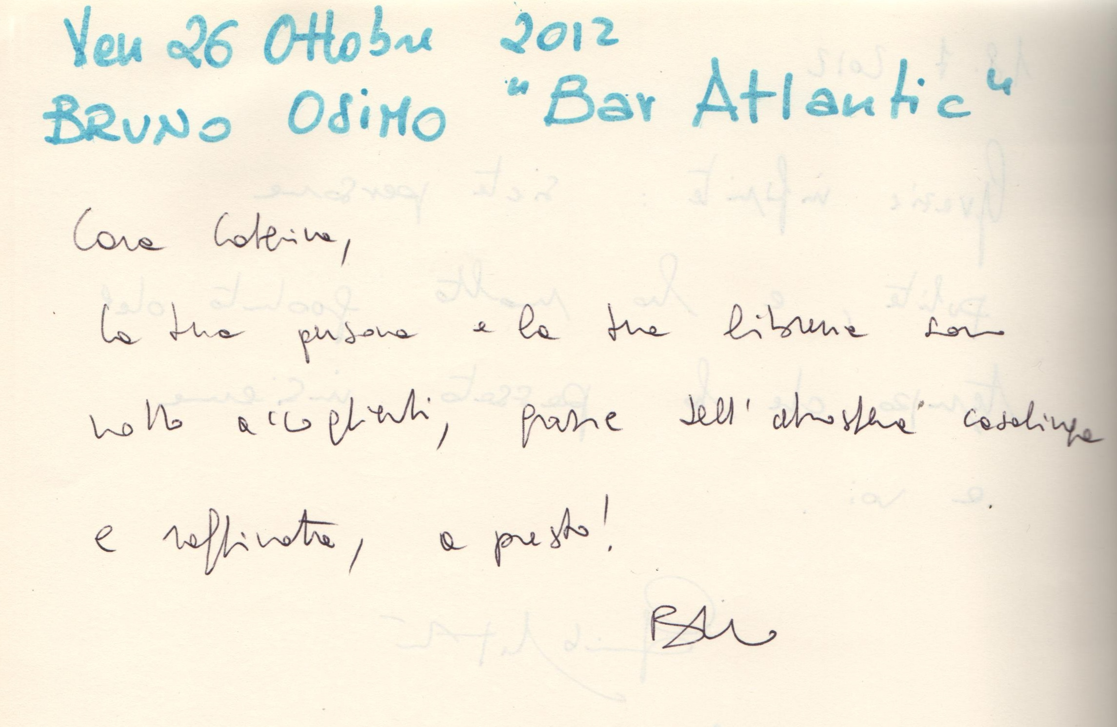 """Bar Atlantic"" di Bruno Osimo"