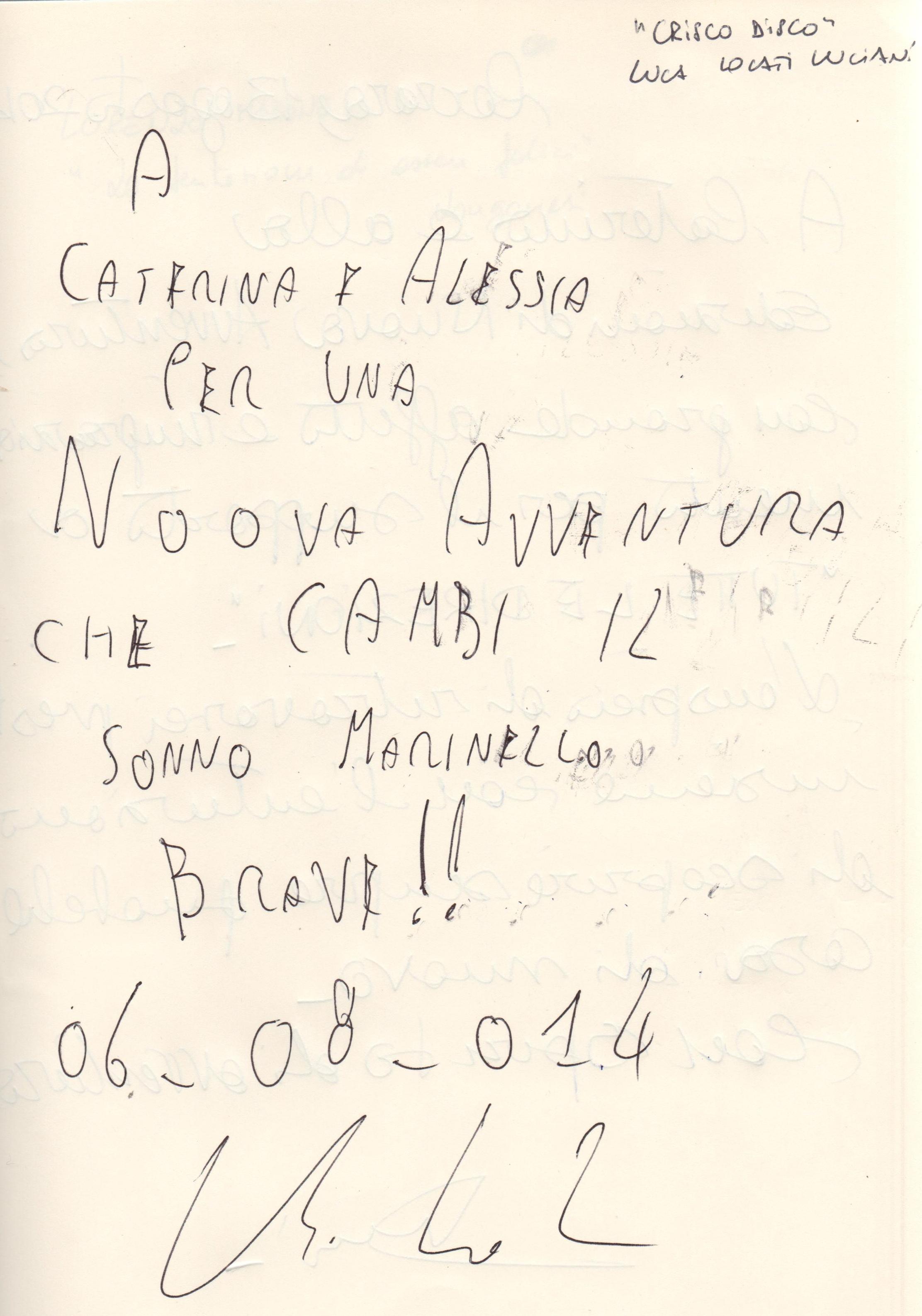 """""""Crisco disco"""" di Luca Locati Luciani"""