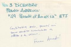 """""""49 pezzetti d'America"""" di Franco Andreucci"""