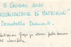 """""""La restauratrice di matrimoni"""" di Donatella Diamanti"""