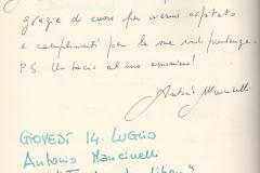 """""""Finalmente liberi"""" di Antonio Mancinelli"""